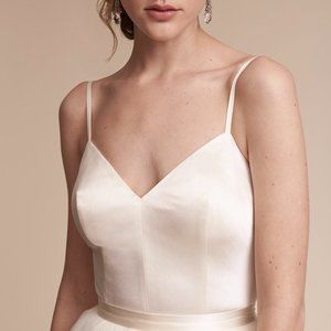 BHLDN Catherine Deane Jewel Bodysuit Size 0 8 NEW
